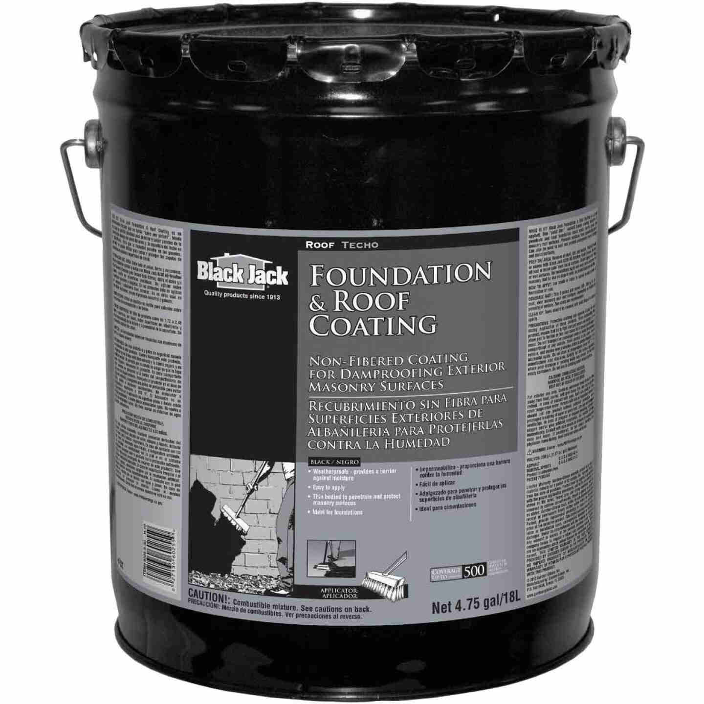 Black Jack 5 Gal. Non-Fibered Foundation and Roof Coating Image 1