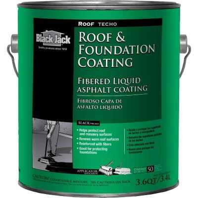 Black Jack 1 Gal. Fibered Roof and Foundation Coating