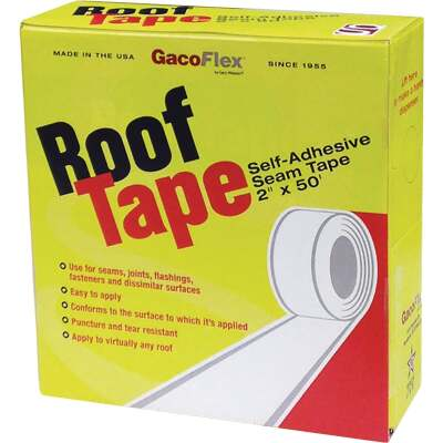 GacoRoof RoofTape 2 In. x 50 Ft. Self Adhesive Seam Tape, 193-946