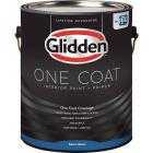 Glidden One Coat Interior Paint + Primer Semi-Gloss White Pastel Base 1 Gallon Image 1