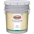 Glidden Fundamentals Interior Paint Flat White Pastel Base 5 Gallon Image 1