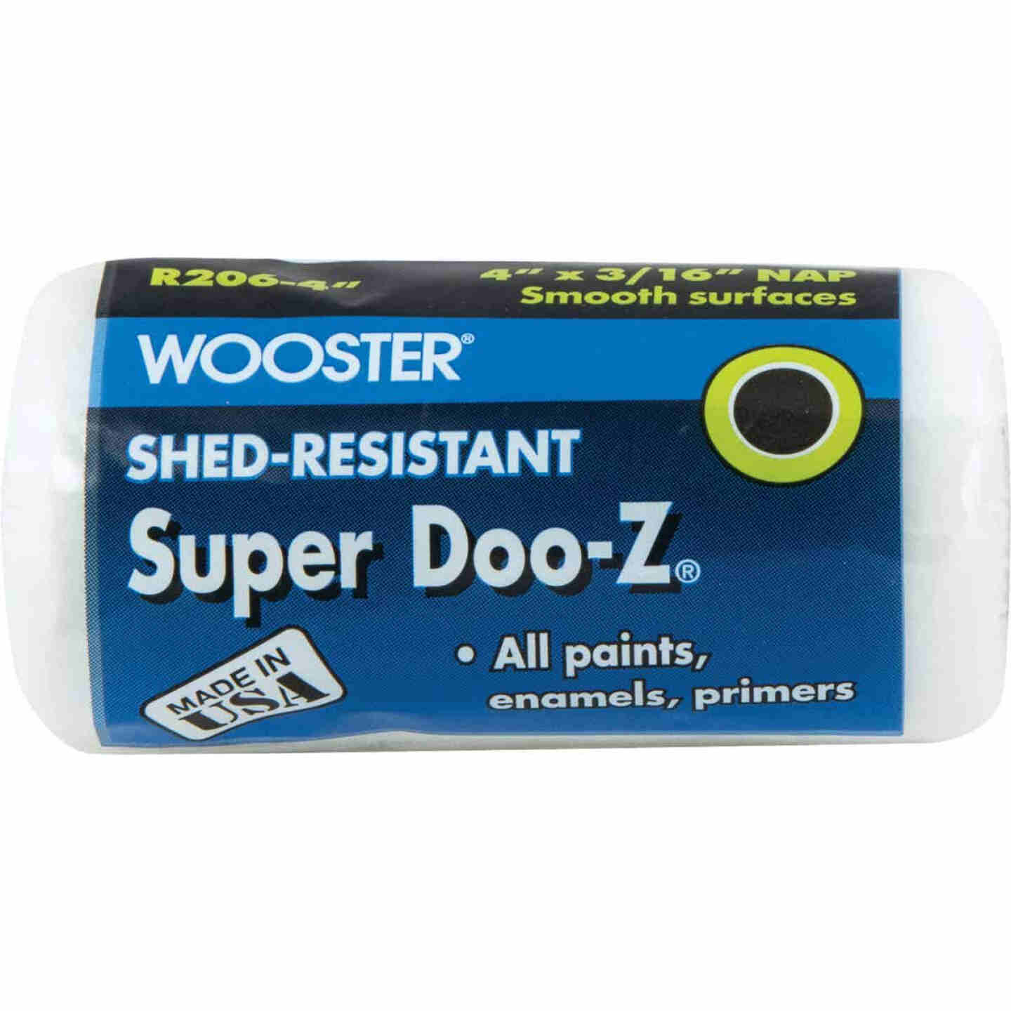 Wooster Super Doo-Z 4 In. x 3/16 In. Woven Fabric Roller Cover Image 1