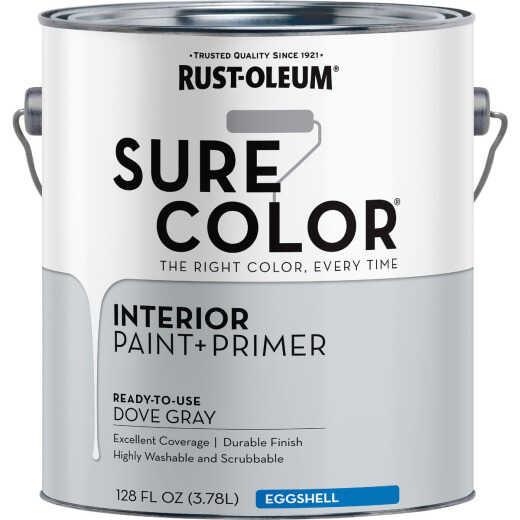 Simply Home Eggshell Dove Gray Interior Wall Paint, Gallon