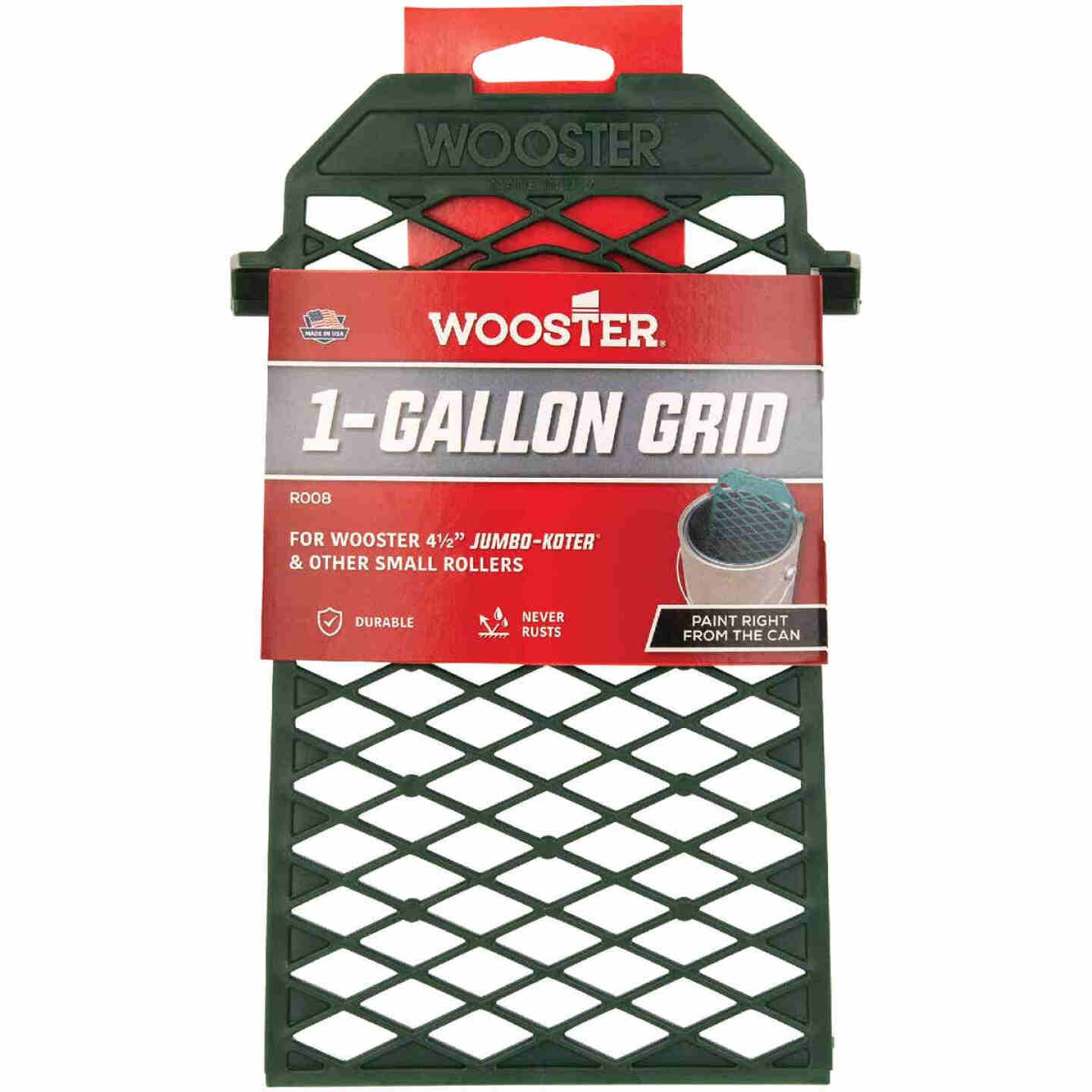 Wooster Gallon Poly Paint Roller Grid Image 1