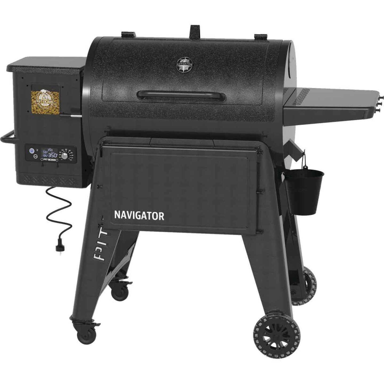 Pit Boss Navigator 850 Black 40,000-BTU 879 Sq. In. Wood Pellet Grill Image 1