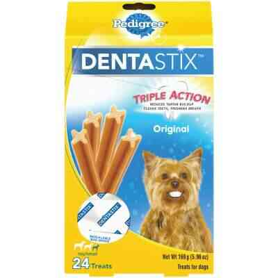 Pedigree Dentastix Toy Dog Original Flavor Dental Dog Treat (24-Pack)