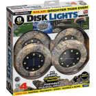 Bell+Howell Tan Stone Disk Light Image 1