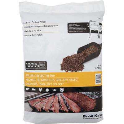 Broil King 20 Lb. Maple, Oak, & Cherry Griller's Select Blend Wood Pellet