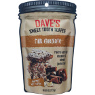 Dave's Sweet Tooth 4 Oz. Milk Chocolate Gourmet Soft Toffee Image 1